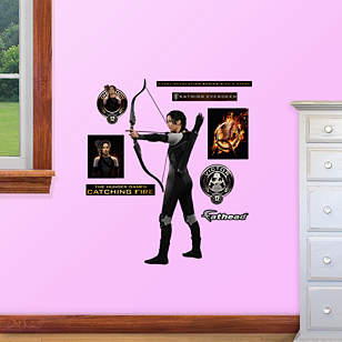 The Hunger Games: Catching Fire Katniss Fathead Jr